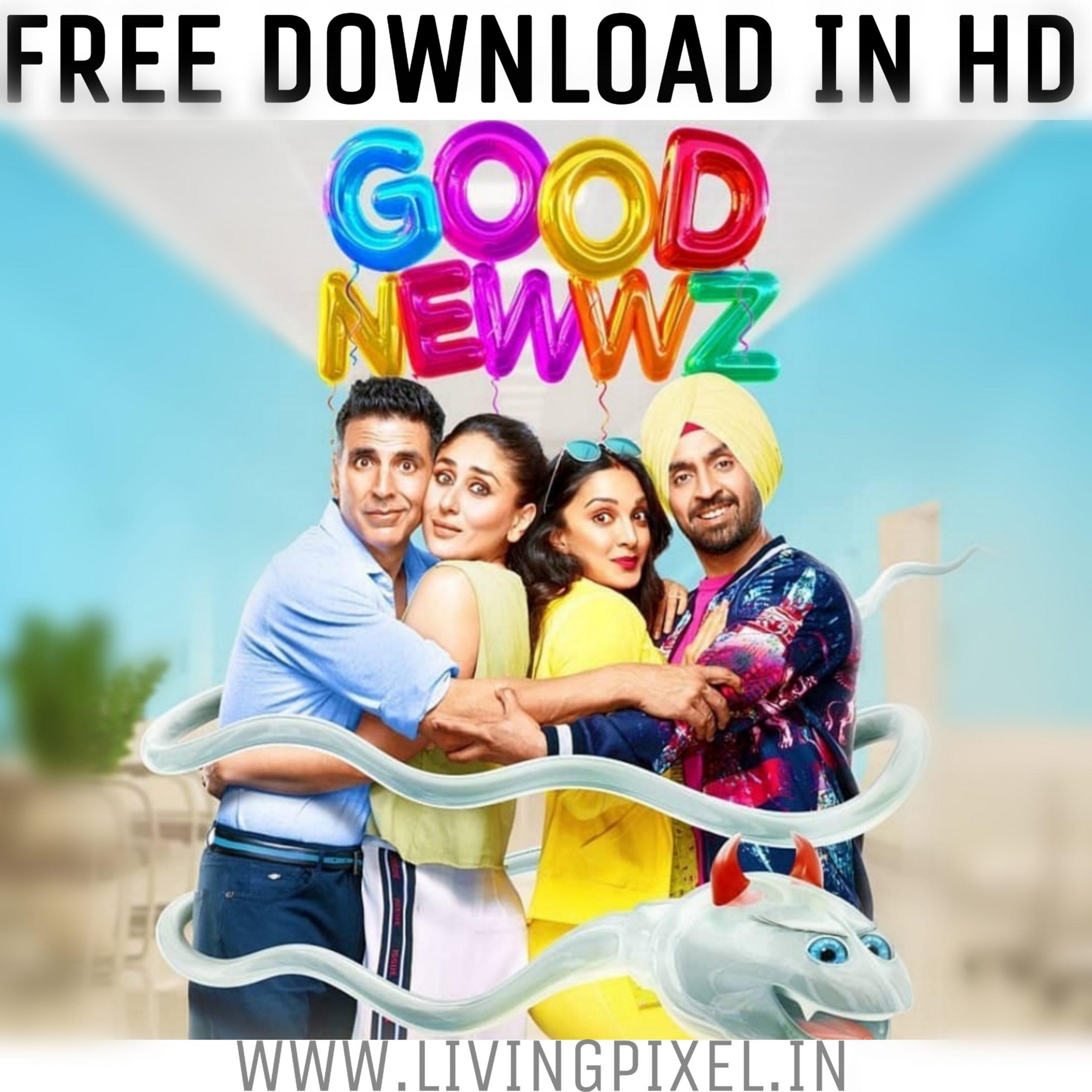 Good Newwz full movie download Worldfree4u in HD