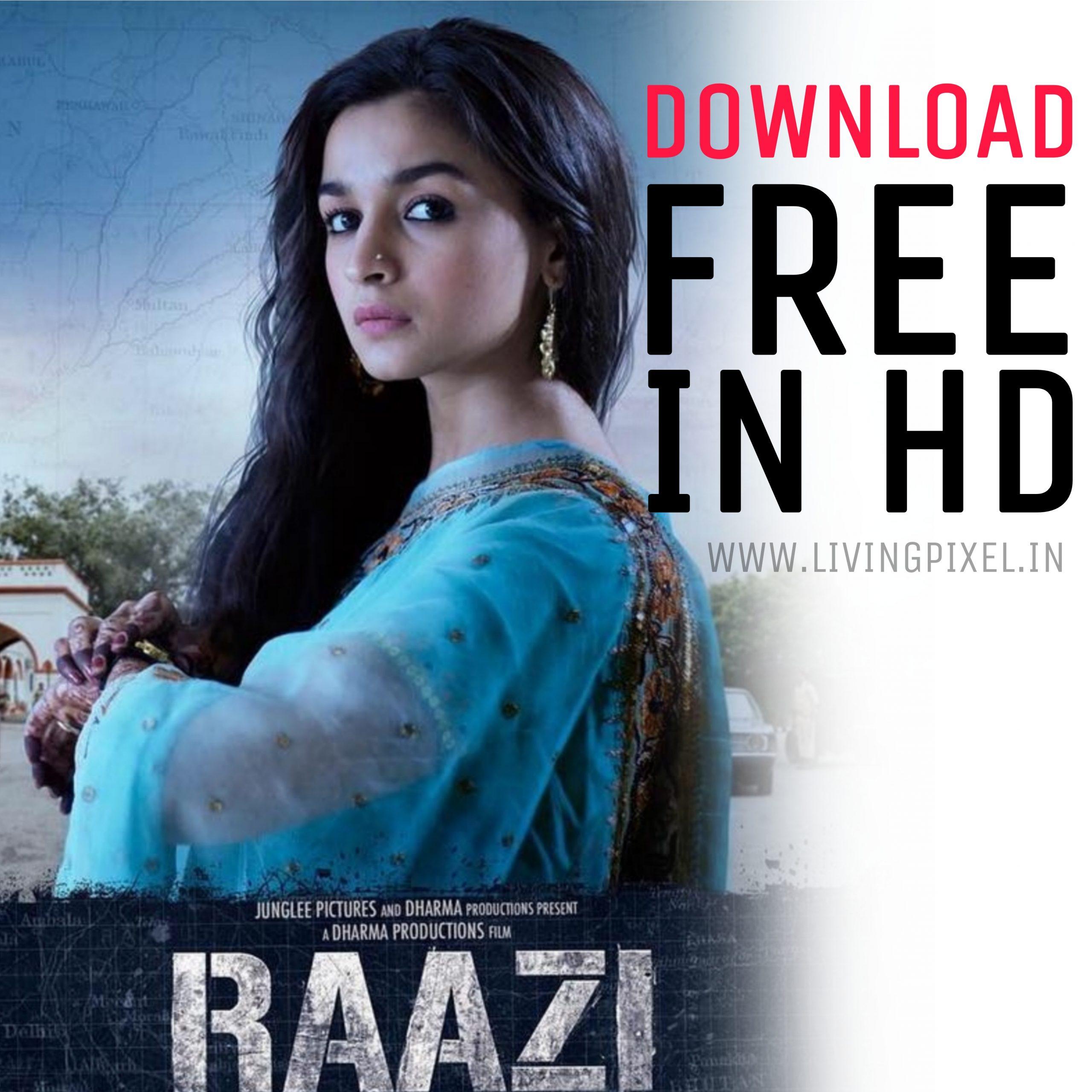 Raazi movie download Telegram in HD