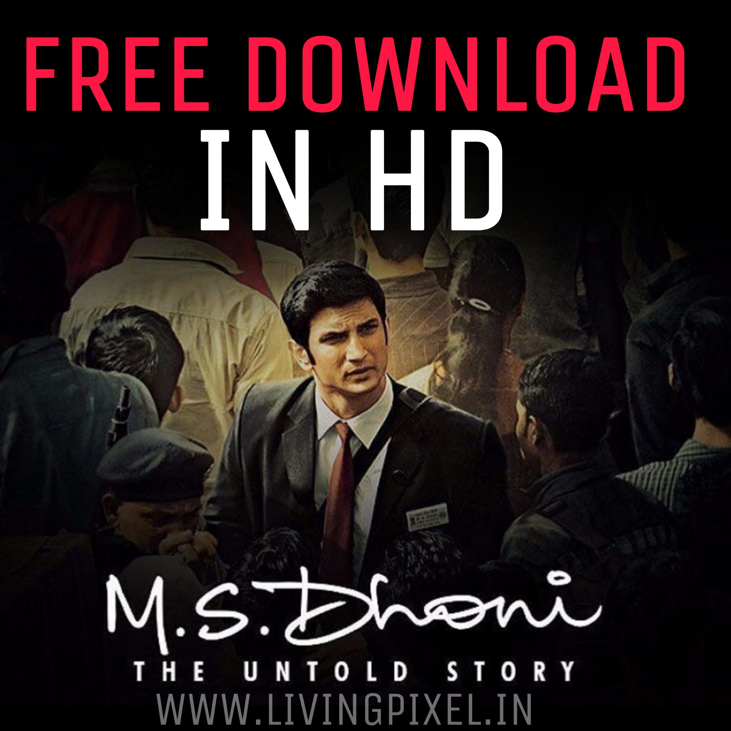 MS Dhoni The Untold Story full movie download 720p Filmywap in HD